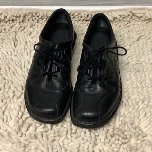Naturalized Black Brown Leather Shoes